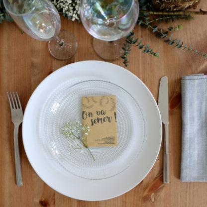 plantes pour invités mariage