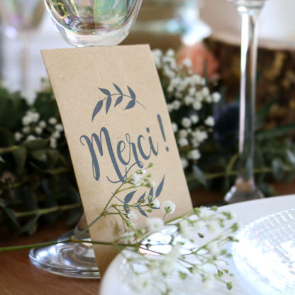 Petit cadeau à offrir aux invités d'un mariage
