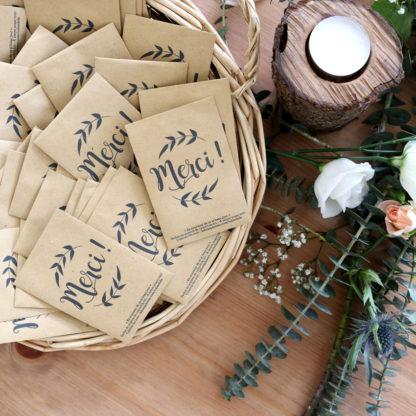 Cadeau d'invités pour un mariage