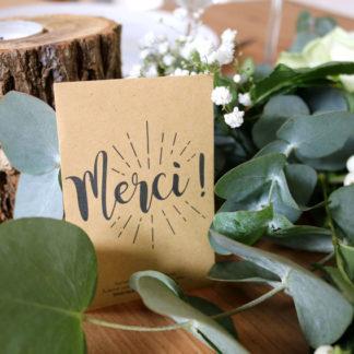 détail pour invités mariage