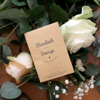 Seed packet for a special event!
